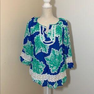 Crown & ivy ¾ sleeve blouse